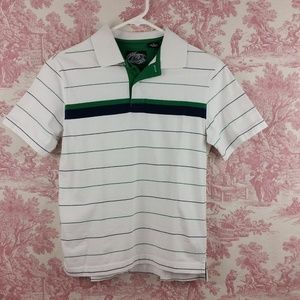First Wave Boys Polo Shirt Size 12 Short Sleeve